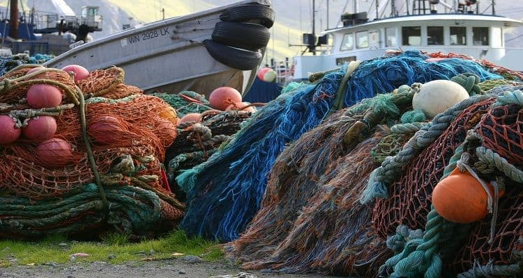 how fishing net works