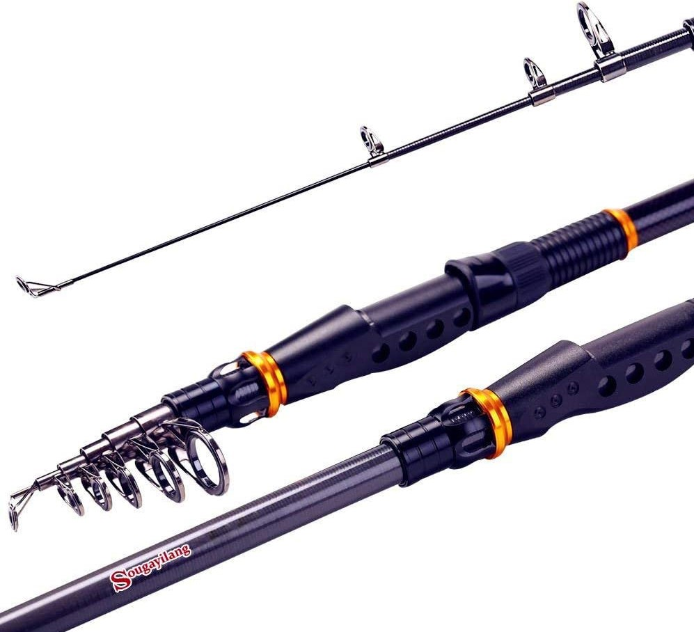 Sougayilang Graphite Spinning Fishing Rod